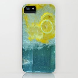 Lemon Water iPhone Case