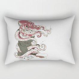 My head is an octopus Rectangular Pillow