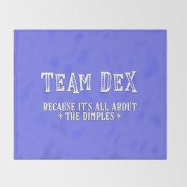 Team Dex Throw Blanket