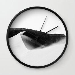 Chilean desert. Wall Clock