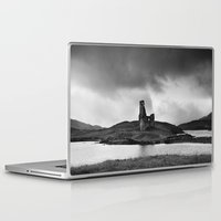 scotland Laptop & iPad Skins featuring SCOTLAND, CASTLE by Carlos Sanchez