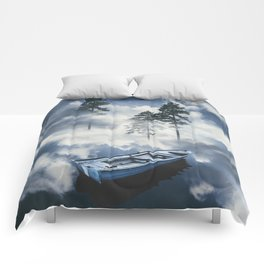 Forest sailing Comforters
