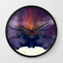 HORNED DEMON - ETHEREAL Wall Clock