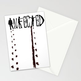 Infected Zombie Stationery Cards