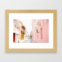 COLOMBIA 3 Framed Art Print