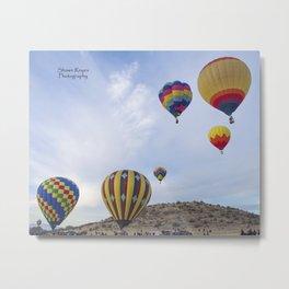 Balloon Fair Metal Print