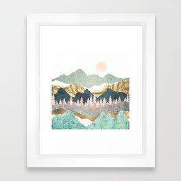 Summer Vista Framed Art Print