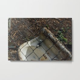 Abandoned Sink - Seattle, WA Metal Print