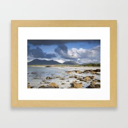 Renvyle Beach in Connemara, Galway, Ireland Framed Art Print