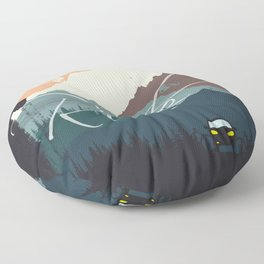 Ride Floor Pillow