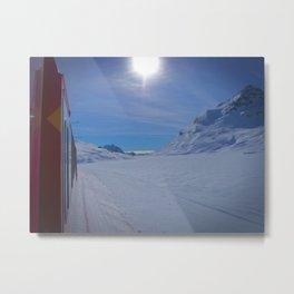 Swiss Alps. Metal Print