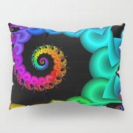 the perky spiral -3- Pillow Sham