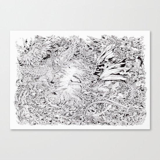 Fire & Ice Canvas Print