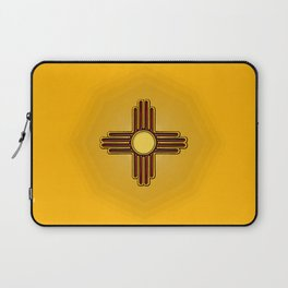 Fancy Flag:  New Mexico Laptop Sleeve