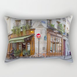 Cute Corners of Paris Rectangular Pillow
