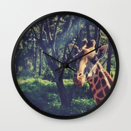 Vintage Africa 17 Wall Clock