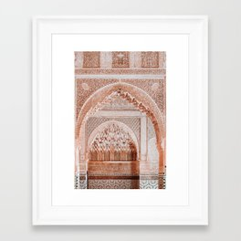 Morocco travel no1 Framed Art Print