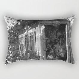 Sad Shed Rectangular Pillow