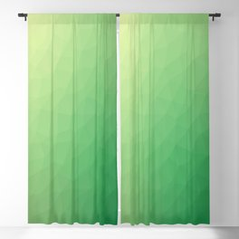 Green flakes Blackout Curtain