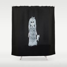 Ghost Girl Shower Curtain
