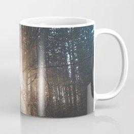 Sun Rays through Trees Coffee Mug