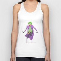 the joker Tank Tops featuring Joker  by Bastonmag