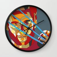 lawyer Wall Clocks featuring James Howlett by Liam Brazier