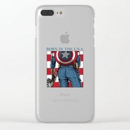 America's Ass Clear iPhone Case