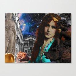 Ziegfeld Muse Series No.9 - Hippomenes Races Atalanta and Wins Her Heart Canvas Print