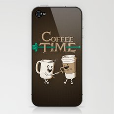 Coffee Time! iPhone & iPod Skin