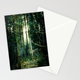 Misterious Forest Stationery Cards