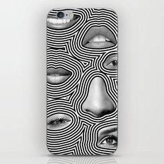 Silver Abuse iPhone Skin