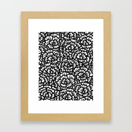KAOU {B+W} Framed Art Print