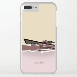 Robie House Frank Lloyd Wright Clear iPhone Case