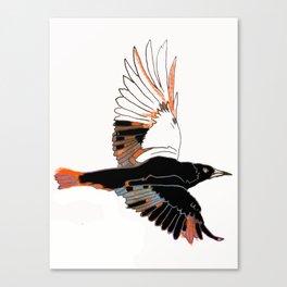 BlackbirdFlies - Ria Loader Canvas Print