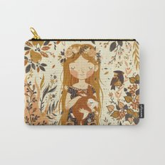 The Queen of Pentacles Carry-All Pouch