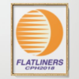 FLATLINERS Serving Tray
