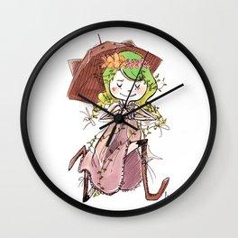 Morigirl 1 Wall Clock
