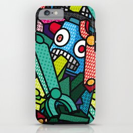 Artsy Bot iPhone Case