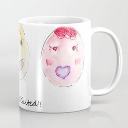 I'm so eggcited!! Coffee Mug