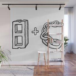 Blockchain Wall Mural