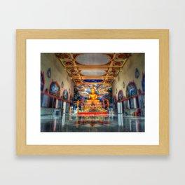 Queens Temple Thailand Framed Art Print