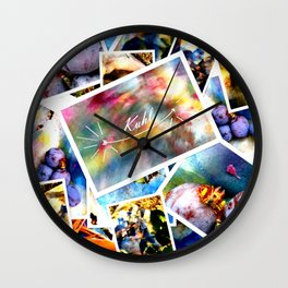 Circus Of Outrageous : Deconstruction Wall Clock