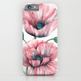 Summer poppies I iPhone Case