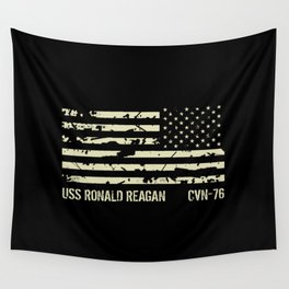 USS Ronald Reagan Wall Tapestry