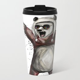 Bass Panda Metal Travel Mug