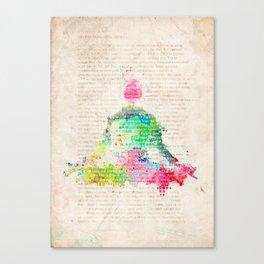 Meditation Exercise №1 Canvas Print