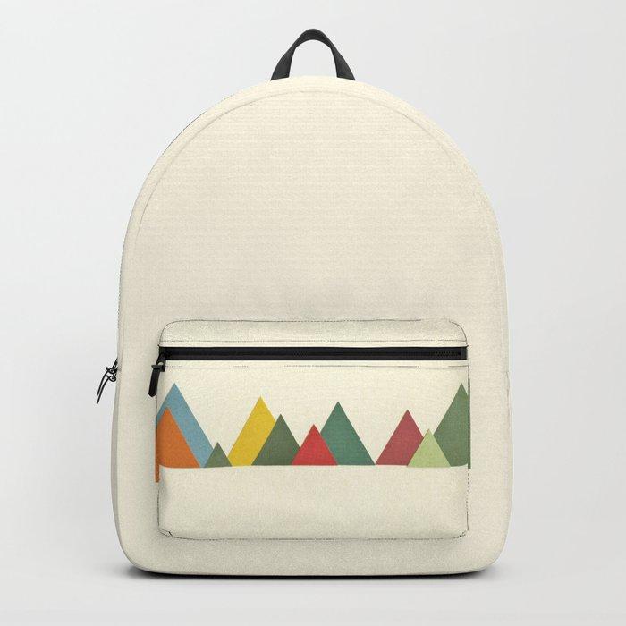 Mountain range Backpack