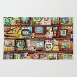 The Golden Age of Television Rug