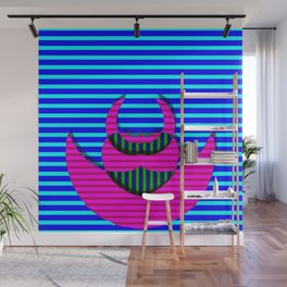 A crazy thing with stripes ... Wall Mural